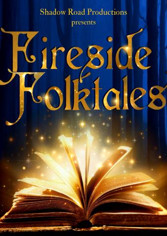 Fireside Folktales blue logo